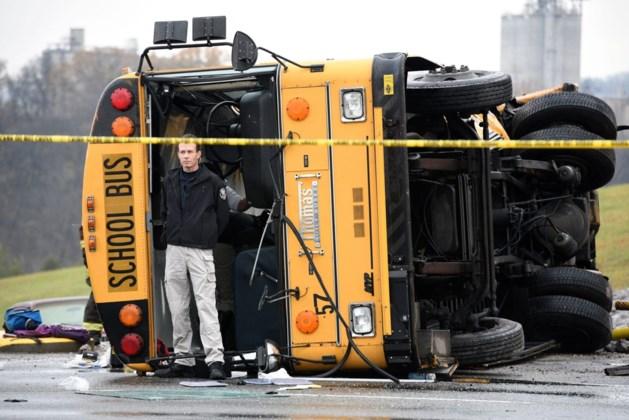 Drie doden bij ongeval met twee schoolbussen in Tennessee