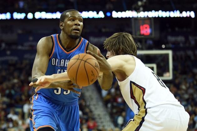 Oklahoma verliest ook mét Kevin Durant, Dallas onder stoom