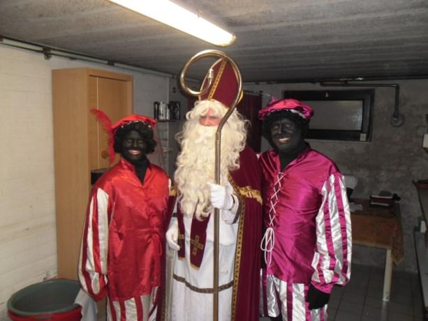 Sinterklaas op ronde in Bovenstal