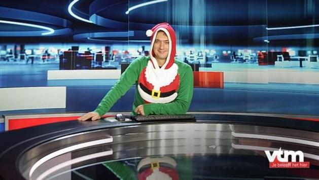 FOTO: Stef Wauters hijst zich in hilarische kersttrui