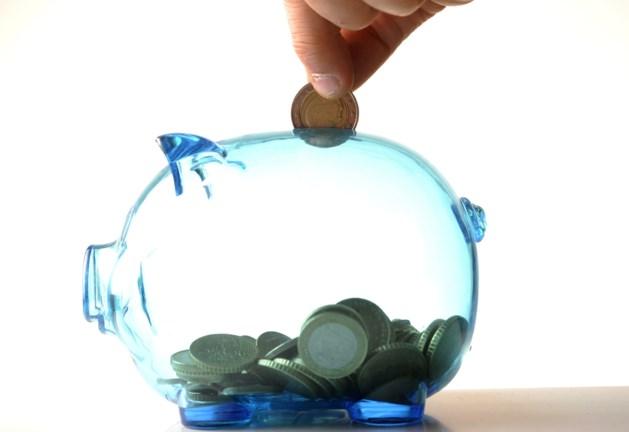 Belgen plaatsen minder geld op spaarboekje