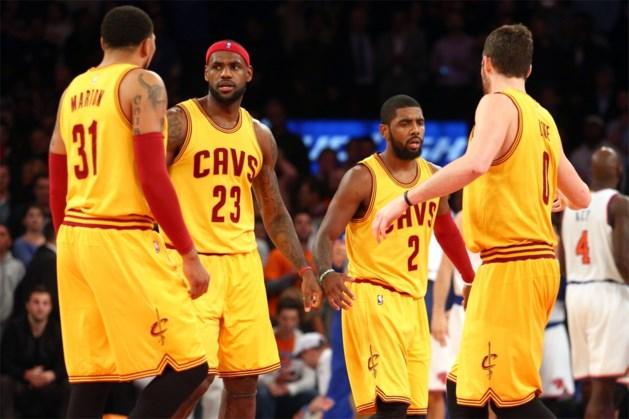 LeBron neemt revanche op de Knicks