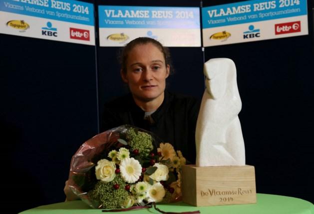 Delfine Persoon klopt Swings en Nys in strijd om Vlaamse Reus: 'Mooie erkenning voor de bokssport'
