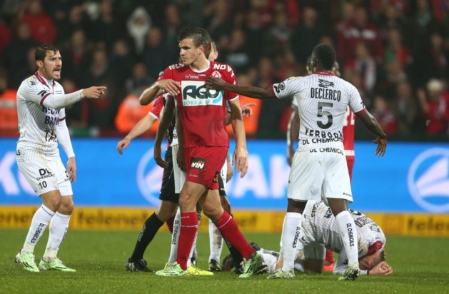 KV Kortrijk legt zich neer bij schorsing voor Santini