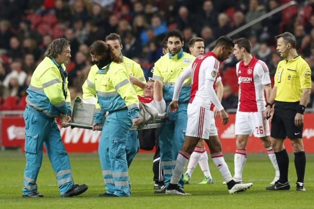 Ajax drie tot vier weken zonder Sigthorsson