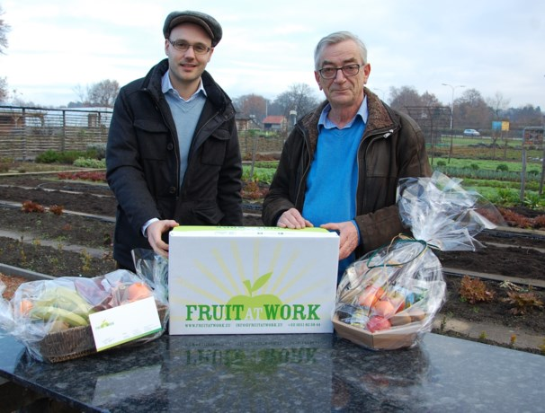Sociaal project De Hoev verdeelt biofruit via Fruit At Work