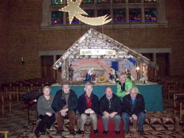 Opnieuw 'Zingen rond de Kerststal' in Waterschei