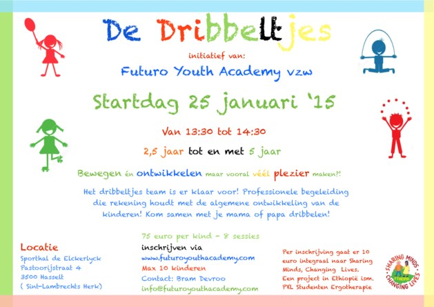 Futuro Youth Academy start met dribbeltjes