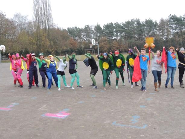Superhelden vinden krachten in Eymardschool