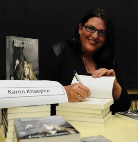 Karen Knaepen schrijft derde roman