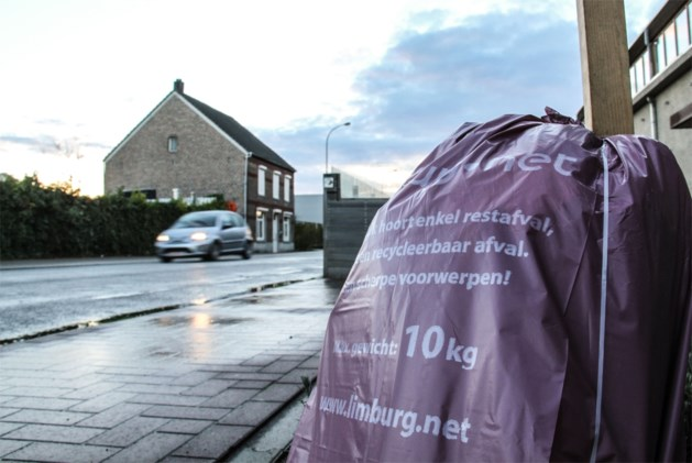 Afval later opgehaald door staking