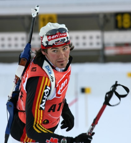 Michael Rösch wordt 81e in 10 km sprint in Hochfilzen