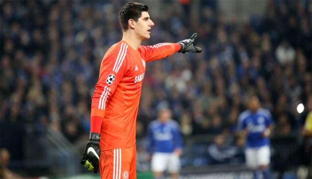 Thibaut Courtois niet in doel voor Chelsea