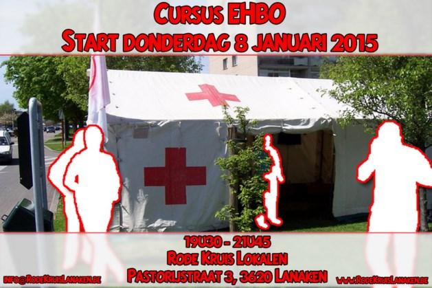 Cursus Eerste Hulp start op 8 januari