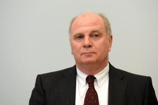 Ex-voorzitter Hoeness keert in januari terug bij Bayern