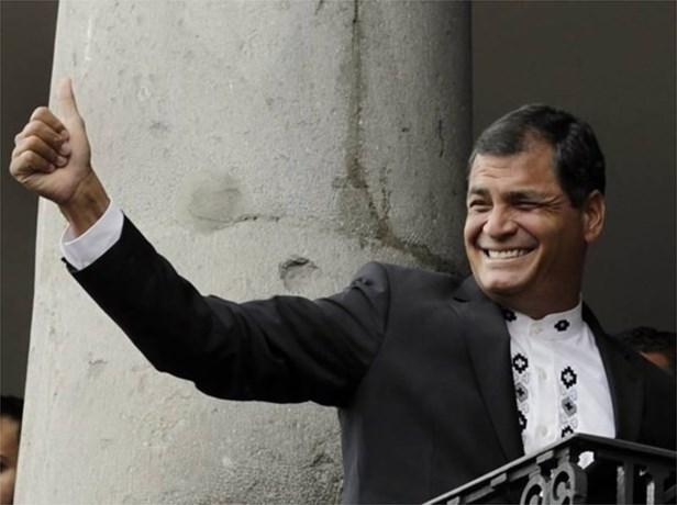 President Ecuador brengt kerstdagen door in België