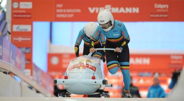 WB bobslee: Belgian Bullets zesde in Calgary
