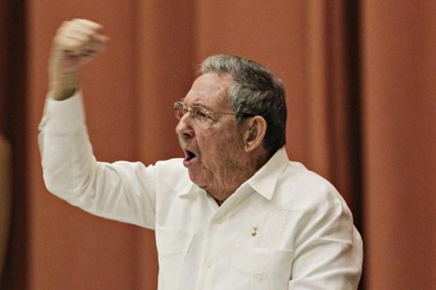 Raul Castro: 'Cuba geeft het communisme niet op'