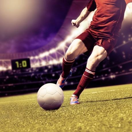 Kwart Belgische voetballers heeft gat in hand