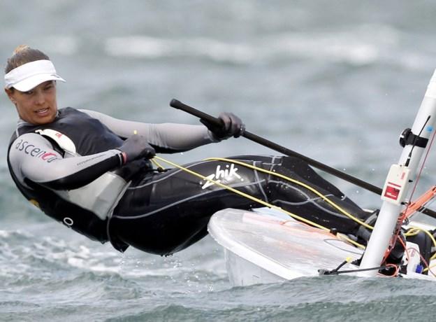 Evi Van Acker begint als tweede aan medaillerace