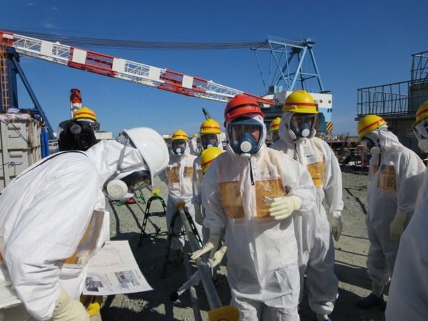 Fukushima - Staven met splijtstof verwijderd uit reactor 4