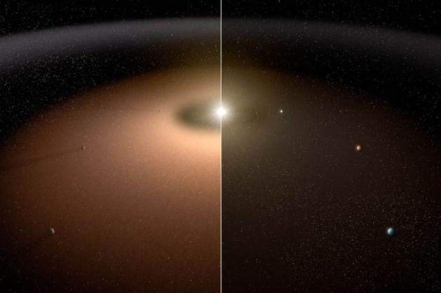 Blik op de Ruimte: warm stof in beeld