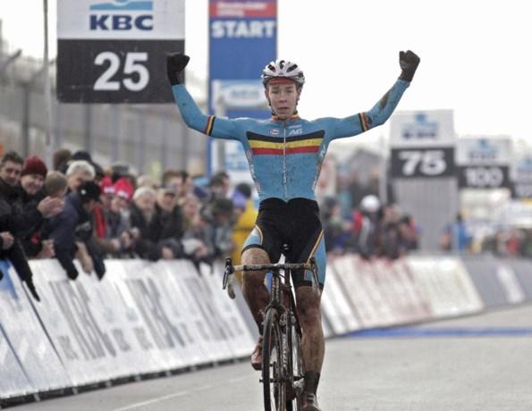 Laurens Sweeck verrast Van Aert en Van der Poel