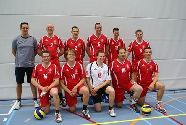 Druk volleybalweekend voor Kivoc