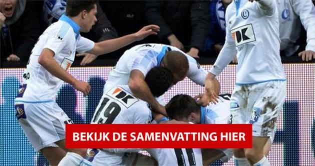 AA Gent zwoegt zich in aangename topper langs Kortrijk