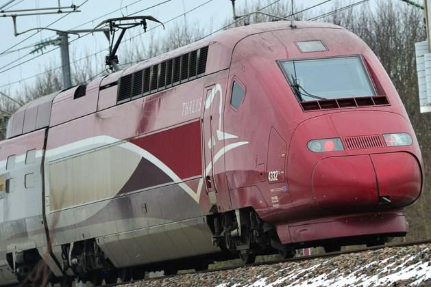 Treinverkeer tussen België en Nederland verhinderd