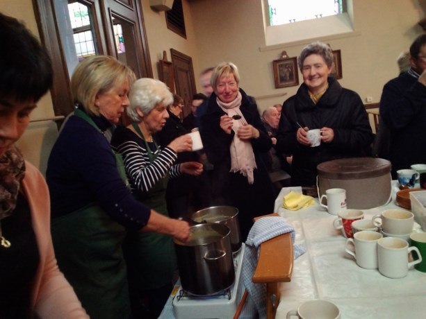 KVLV Boekhout zorgt voor soep op de stoep