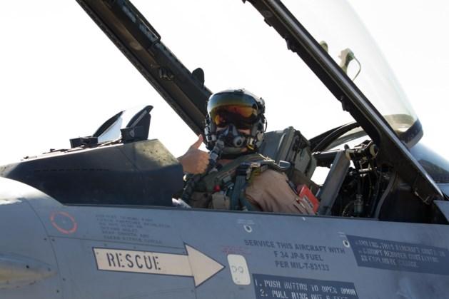 Belgische F16's vernielen raffinaderij in Irak
