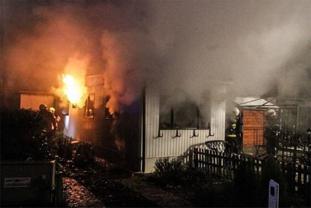 Extra politiepatrouilles na branden op camping Goolderheide