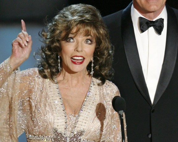 Koninklijke onderscheiding voor actrice Joan Collins