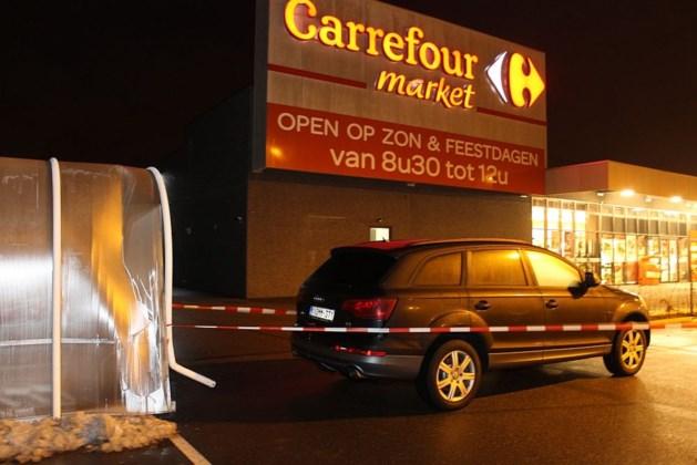 Gewonde bij overval op Carrefour Market