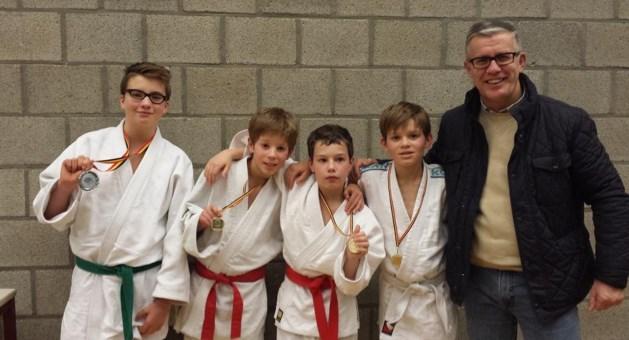 Judoka's Agglorex Lommel presteren In Hasselt