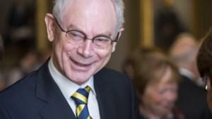 Herman Van Rompuy wordt ereburger Sint-Genesius-Rode