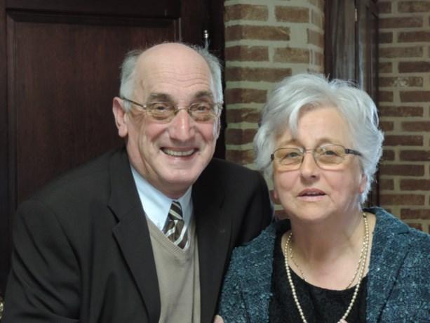 Pierre en Marie Louise vieren goud
