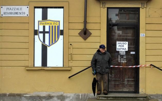 Rechtbank verklaart Parma failliet