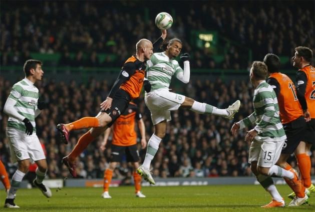 Denayer zet Celtic met doelpunt op weg naar halve finale in beker