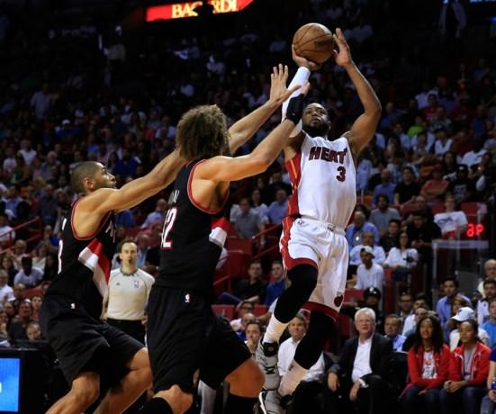 NBA. Miami zet scheve situatie recht, ook Spurs en Caveliers herpakken zich