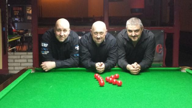 Zuma Snooker Club kampioen in zaterdagreeks