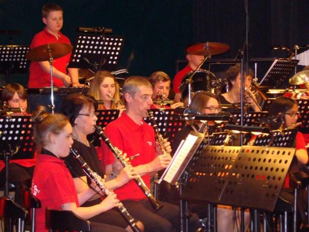 Harmonie Salvia presenteerde een galaconcert met een koninklijk tintje