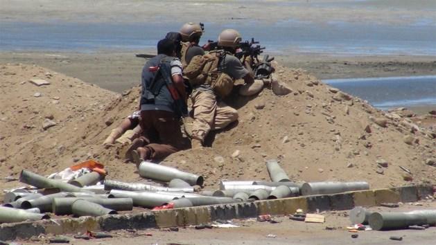 Saoedische grensstad getroffen door granaten van Jemenitische rebellen