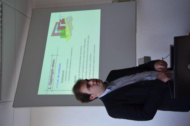 Bjorn Smeekens wint PXL-Tech Award 2015