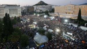 'Wij, Grieken, zullen onze toekomst in eigen handen nemen'