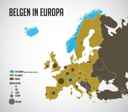 Belgen in het buitenland: hier wonen ze het liefst
