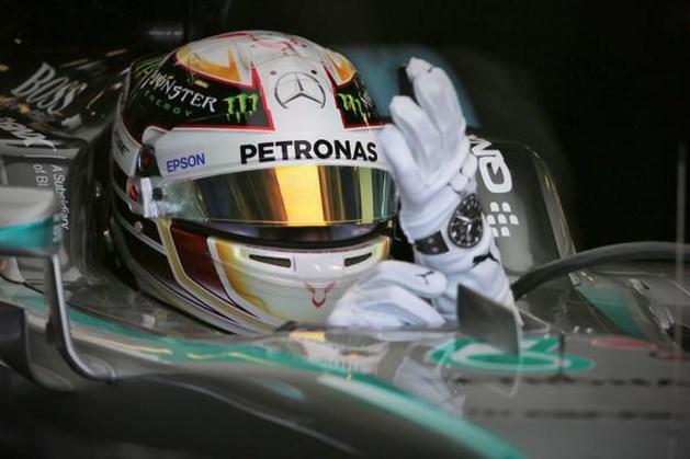 Hamilton ook snelste op een opdrogend circuit van Monza