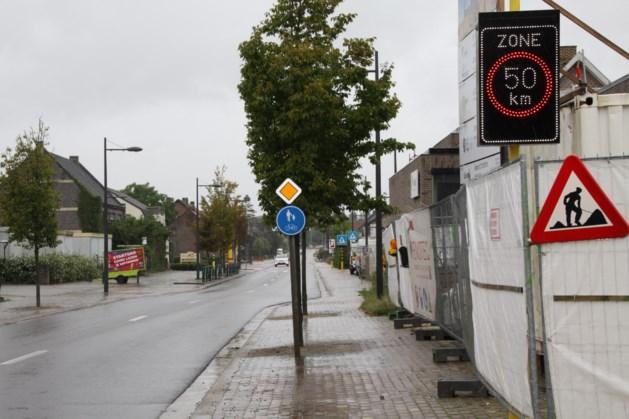 Veilige voetganger- en fietserszone in Lozen