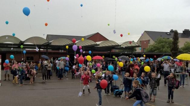 Kleurrijke eerste schooldag in Lutselus